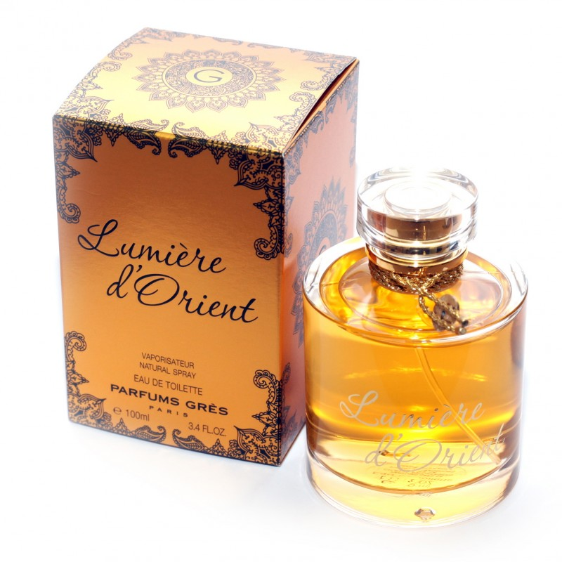 gres lumiere d 39 orient eau de toilette 100 ml 3 3 35 20. Black Bedroom Furniture Sets. Home Design Ideas