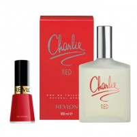 Revlon - Charlie Red Gift Set EDT 100ml 3.3fl.oz + Nail Polish 14.7ml 0.5fl.oz
