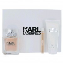 Karl Lagerfeld White Gift Set for Women