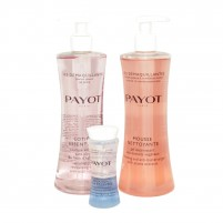 PAYOT Duo Demaquillant CLARTE Cleansing Gel and toner 400ml/13,5fl.oz x2