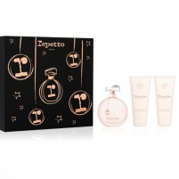REPETTO Gift Set EDP 80ml 2.6oz + Body Lotion + Shower Gel